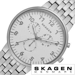 [送料無料]スカーゲン腕時計[SKAGEN時計](SKAGEN腕時計スカーゲン時計)アンカー(Ancher)メンズ/レディース腕時計/SKW6231[人気/新作/流行/ブランド/防水/メタルベルト/北欧/シンプル/シルバー]