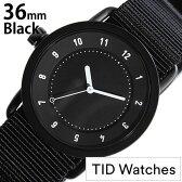 ティッドウォッチズ 腕時計 レディース 女性 [ TID watches ] ブラック TID01-BK36-NBK [ NATO ベルト おしゃれ インスタ モデル 北欧 ペア ホワイト ナトー ]