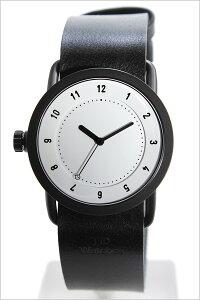 [送料無料]ティッドウォッチ腕時計[TIDWatches時計](TIDWatches腕時計ティッドウォッチ時計)(TIDNo.1)レディース腕時計/ホワイト/TID01-WH36-BK[革ベルト/正規品/おしゃれ/防水/替え/北欧/アナログ/ブラック]