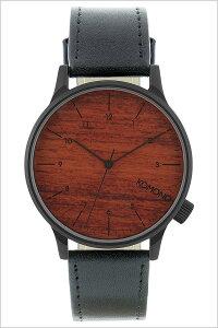 [ポイント10倍][送料無料]コモノ腕時計[KOMONO時計](KOMONO腕時計コモノ時計)ウィンストン(WINSTON)メンズ/レディース/腕時計/ブラウン/KOM-W2020[人気/新作/ブランド/トレンド/革ベルト/レザー/ブラック/シンプル/ベルギー/ヨーロッパ]