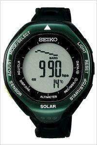 [送料無料]セイコー腕時計[SEIKO時計](SEIKO腕時計セイコー時計)プロスペックスアルピニスト(PROSPEXALPINIST)メンズ腕時計/グレー/SBEB005[ラバーベルト/液晶/デジタル/正規品/防水/三浦豪太登山/ブラック/グリーン]