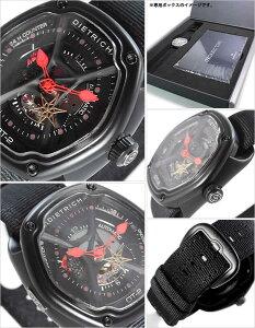 [送料無料]ディートリッヒ腕時計[DIETRICH時計](DIETRICH腕時計ディートリッヒ時計)オーガニックタイム(OrganicTime)腕時計/グレー/DIETRICH-OT-2[新作/人気/流行/トレンド/ブランド/機械式/自動巻き/防水/ナイロンベルト/ガンメタル/ブラック/レッド]