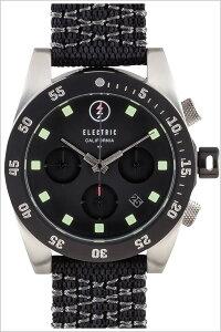 [送料無料]エレクトリック腕時計[ELECTRIC時計](ELECTRIC腕時計エレクトリック時計)(DW01NATO)メンズ/腕時計/ブラック/DW1N2-BK[正規品/人気/新作/ブランド/トレンド/ポリエステル/クロノグラフ/シルバー]
