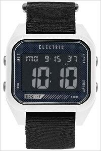 [送料無料]エレクトリック腕時計[ELECTRIC時計](ELECTRIC腕時計エレクトリック時計)(ED01NATO)メンズ/レディース/腕時計/ブラック/ED1N2-WHBK[正規品/人気/新作/ブランド/トレンド/ポリエステル/デジタル/ホワイト]