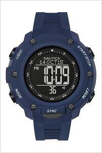 [送料無料]ノーティカ腕時計[NAUTICA時計](NAUTICA腕時計ノーティカ時計)メンズ/腕時計/ブラック/NAI19524G[正規品/腕時計/ウォッチ/人気/新作/ブランド/トレンド/シリコンベルト/ブルー]
