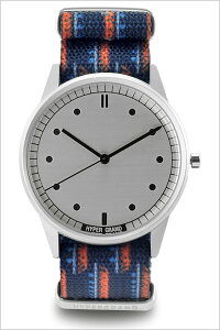 [送料無料]ハイパーグランド腕時計[HYPERGRAND時計](HYPERGRAND腕時計ハイパーグランド時計)ゼロワンナトー(01NATO)メンズ/レディース/腕時計/シルバー/NW01CARI[正規品/人気/新作/ブランド/トレンド/ナイロンベルト/ブルー]