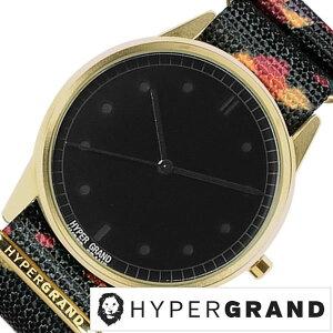 [送料無料]ハイパーグランド腕時計[HYPERGRAND時計](HYPERGRAND腕時計ハイパーグランド時計)ゼロワンナトー(01NATO)メンズ/レディース/腕時計/ブラック/NW01ROCK[正規品/人気/新作/ブランド/トレンド/ナイロンベルト/ゴールド]