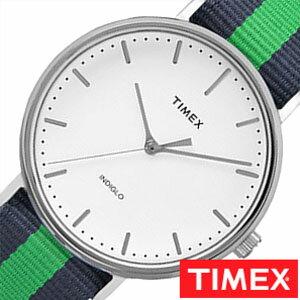 [送料無料]タイメックス腕時計[TIMEX時計](TIMEX腕時計タイメックス時計)ウィークエンダーフェアフィールド/メンズ/腕時計/ホワイト/S-TW2P90800[正規品/NATOベルト/ナトー/新品/ファッションウォッチ/シンプル/ブルー/ネイビー/グリーン/シルバー]