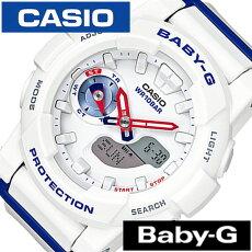 �������ӻ���[CASIO����](CASIO�ӻ��ץ���������)�٥ӡ��ǥۥ磻�ȥȥꥳ�?�륷���(BabyGWhiteTricolorSeries)��ǥ�����/�ӻ���/�ۥ磻��/BGA-185TR-7AJF[������/�͵�/�֥���/�ɿ�/BABY-G/�٥��ӡ�����/���ʥǥ�][����̵��]