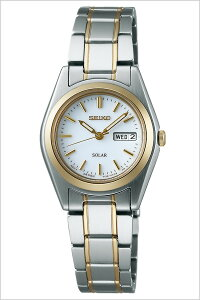 セイコー腕時計[SEIKO時計](SEIKO腕時計セイコー時計)スピリット(SPIRIT)レディース/腕時計/ホワイト/STPX014[メタルベルト/正規品/ソーラー/シルバー/ゴールド/シンプル][送料無料][プレゼント/ギフト]