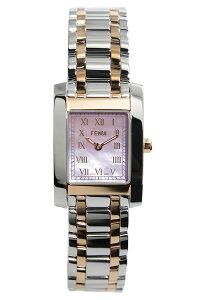 [送料無料]フェンディ腕時計[FENDI時計](FENDI腕時計フェンディ時計)クラシコ(Classico)レディース腕時計/ピンク/F702270[メタルベルト/シルバー/ピンクシェル/ローズゴールド/ピンクゴールド/スイス/スクエア]