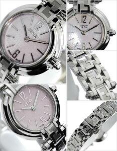 [送料無料]フェンディ腕時計[FENDI時計](FENDI腕時計フェンディ時計)ズッカ(Zucca)レディース腕時計/ピンク/F79270[メタルベルト/シルバー/ピンクシェル/スイス/New/ニュー/クオーツ]