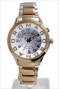 ロマゴデザイン腕時計[ROMAGODESIGN時計](ROMAGODESIGN腕時計ロマゴデザイン時計)アトラクション(ATTRACTION)メンズ/レディース/腕時計/ホワイト/RM067-0162SS-RG[新作/人気/流行/ブランド/防水/メタルベルト/ピンクゴールド][送料無料]