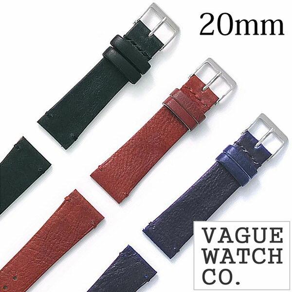 腕時計用アクセサリー, 腕時計用ベルト・バンド  VAGUEWATCH Co. GUIDI HAND STITCH 20mm GH-20-004 GH-20-005 GH-20-006