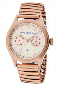 トランスコンチネンツ腕時計[TRANSCONTINENTS時計](TRANSCONTINENTS腕時計トランスコンチネンツ時計)バウンダリ(BOUNDARY)腕時計/ホワイト/TC-BO-002[メタルベルト/正規品/クオーツ/ビジネス/ローズゴールド/ピンクゴールド/アイボリー][送料無料]
