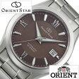【5年延長保証】 オリエント 腕時計 [ ORIENT時計 ]( ORIENT 腕時計 オリエント 時計 ) オリエントスター スタンダード ( Orient Star Standard ) メンズ/腕時計/ブラウン/WZ0031AC [メタル ベルト/機械式/自動巻/メカニカル/正規品/オリエント スター/シルバー]