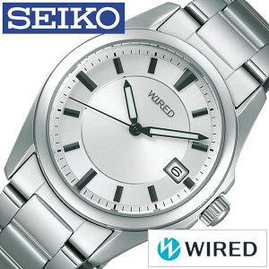 [9月9日販売開始]ワイアード腕時計[WIRED時計](WIRED腕時計ワイアード時計)メンズ/腕時計/シルバー/AGAK401[メタルベルト/正規品/防水/SEIKO/ワイヤード/ブラック][送料無料]
