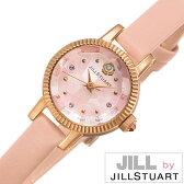 ジルバイジルスチュアート 腕時計 [ JILL byJILLSTUART時計 ]( JILL by JILLSTUART 腕時計 ジル バイ ジルスチュアート 時計 ) ビューティー ( Beauty ) 腕時計 ピンク NJ0Z701 [ 正規品 革 ベルト アクセ 限定 400本 人気 話題 かわいい クリスタル ストーン 送料無料 ]