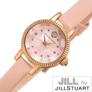 ジルバイジルスチュアート腕時計[JILLbyJILLSTUART時計](JILLbyJILLSTUART腕時計ジルバイジルスチュアート時計)ビューティー(Beauty)腕時計/ピンク/NJ0Z701[正規品/革ベルト/アクセ/限定400本/人気/話題/かわいい/クリスタル/ストーン][送料無料]