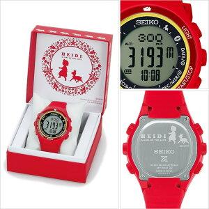 セイコー腕時計[SEIKO時計](SEIKO腕時計セイコー時計)プロスペックス(PROSPEX)メンズ/レディース/ユニセックス/男女兼用/腕時計/グレー/SBEK005[シリコンベルト/液晶/デジタル/正規品/防水/限定1000本/ソーラー/ハイジ/レッド/イエロー][送料無料]