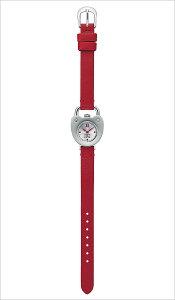 カバンドズッカ腕時計[CABANEdeZUCCA時計](CABANEdeZUCCA腕時計カバンドズッカ時計)キャストハート(CastHeart)レディース/腕時計/シルバー/AJGK719[革ベルト/正規品/SEIKO/ブレスウォッチ/限定400本/レッド][送料無料]