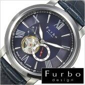 フルボデザイン腕時計[Furbodesign時計](Furbodesign腕時計フルボデザイン時計)メンズ/腕時計/ブルー/F5026BLSET[革ベルト/正規品/機械式/自動巻/メカニカル/おしゃれ/オートマチック/セット/イタリア][送料無料]