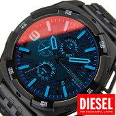 ディーゼル腕時計[DIESEL]時計ヘビーウェイト(Heavyweight)メンズ腕時計ブラック(偏光ガラス)DZ4395[ブランド防水ファッションビッグフェイス偏光メタルベルトブラックポラライザー]
