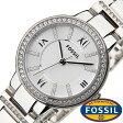 フォッシル 腕時計 [ FOSSIL ] 時計 バージニア ( Virginia ) レディース腕時計 シルバー ES3282 [ ブランド 防水 ギフト プレゼント メタル ベルト]