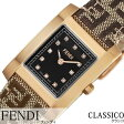 フェンディ 腕時計 [ FENDI 時計 ] クラシコ [ CLASSICO ] レディース ブラック F704222DF-N [ スイス製 イタリア プレゼント 人気 ブランド ファッション おしゃれ ゴールド レザー 革 ]