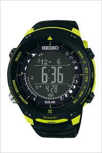 セイコー腕時計限定モデル[SEIKO時計]プロスペックス(PROSPEX)メンズ腕時計ブラックSBEM005[人気正規品ブランド防水ソーラーシリコン限定アウトドアイエロー]