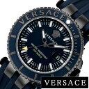 ヴェルサーチ 腕時計 VERSACE 時計 ヴェルサーチ 時計 VERSACE 腕時計 V-レーススポーツ V-RACESPORT メンズ ブルー VAK020016 [ スイス製 イタリア 防水 ギフト プレゼント 人気 ブランド ファッション おしゃれ ][ 送料無料 ]