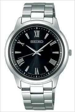 【延長保証対象】セイコー腕時計 SEIKO時計 SEIKO 腕時計 セイコー 時計 セイコーセレクション SEIKO SELECTION メンズ腕時計 ブラック SBPL011 [ 正規品 人気 ビジネス スーツ オフィスカジュアル ラウンド シンプル ステンレス ペア カップルコーデ おそろい シルバー ]