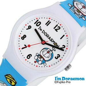 ドラえもん 時計 サンリオ 腕時計 Sanrio ドラえもん腕時計 かわいい時計 アイアム ドラえもん I'm Doraemon キッズ 子供 ホワイト SR-V19 [ グッズ キッズウォッチ ジュニア 子供用 男の子 女の子 孫 姪 甥 兄弟 姉妹 プレゼント ギフト キャラクター 入学 入園 ]