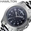 ハミルトン 腕時計 HAMILTON 時計 カーキ KHAKI メンズ 腕時計 ブラック H6445...