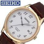 [あす楽]セイコー 腕時計 SEIKO 時計 メンズ ホワイト SGEH78P1 [ 人気 ブランド レア 旦那 夫 彼氏 逆輸入 定番 おしゃれ ファッション カレンダー スーツ 営業 商社 ][ プレゼント ギフト 新春 2020 ]