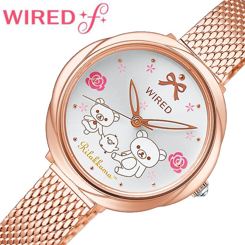 腕時計, レディース腕時計 SEIKO 2 WIRED F RILAKKUMA AGEK745