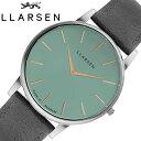 LLARSEN 腕時計 エルラーセン 時計 オリバー Oliver メンズ 腕時計 ティール LL147STRGY 母の日