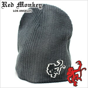 メンズ帽子, ニット帽  RED MONKEY DESIGNS XL-Logo-BLACK