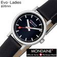 【5年延長保証】 モンディーン 腕時計 レディース 女性 [ MONDAINE ] エヴォ ( Evo-Ladies ) A658.30301.14SBB-N