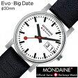 【5年延長保証】 モンディーン 腕時計 レディース 女性 [ MONDAINE ] エヴォ ビッグデイト ( Evo-BigDateLadies ) A669.30305.11SBB