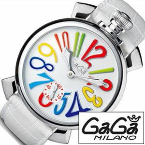 ガガミラノ腕時計[GaGaMILANO時計](GaGaMILANO腕時計ガガミラノ時計)マヌアーレ48MMアッチャイオ(MANUALE48MMACCIAIO)/メンズ時計GG-5010.1