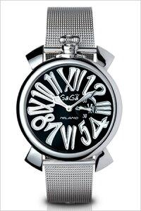 ガガミラノ腕時計[GaGaMILANO時計](GaGaMILANO腕時計ガガミラノ時計)スリム46MMアッチャイオ(SLIM46MMACCIAIO)/メンズ時計GG-5080.2