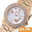 フォリフォリ 時計 レディース 女性 [ folli follie ] 腕時計 フライングハーツ [ Flying Hearts ] WF9B049BTS