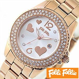 フォリフォリ腕時計[FolliFollie時計](FolliFollie腕時計フォリフォリ時計)フライングハーツ(FlyingHearts)/レディース時計/WF9B049BTS