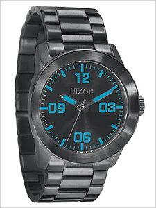 ニクソン腕時計[NIXONWATCH](NIXON腕時計ニクソン時計)プライベートガンメタルブルー[THEPRIVATESSGUNMETALBLUE]/メンズ/レディース/男女兼用時計A276-624[♂]