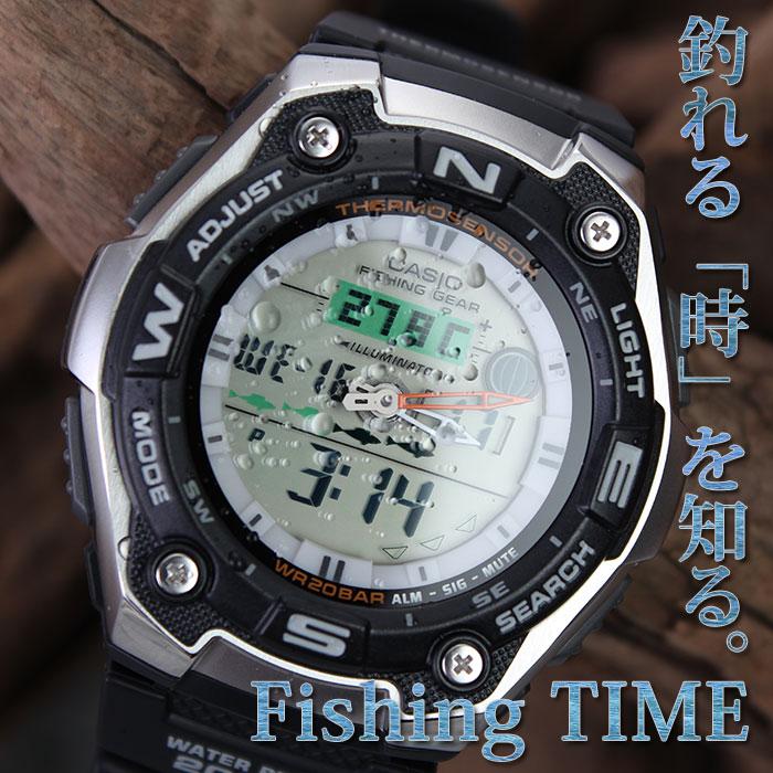腕時計, メンズ腕時計  CASIO SPORTS GEAR AQW-101J-1AJF