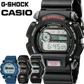 カシオ腕時計CASIO時計GショックG-SHOCKGSHOCKジーショックメンズDW-9052[メンズ腕時計ブランドタフカジュアル仕事作業デジタルブラックブルーナイロンベルトシリコンベルト防水]