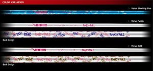 1■【Reve/レーヴ】VENUSヴィーナス超軽量シャフトRR48インチ46g(ショッキングブルー、パープル、ゴールド)【10P23Sep15】
