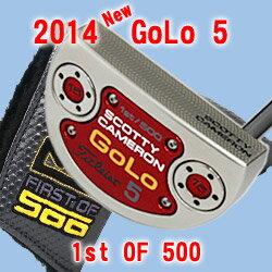 【全米OPフェア〜6/17まで】SCOTTY CAMERON 2014 GOLO 5 FIRST OF 5002■【ScottyCameron】【FR...