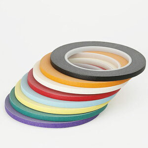 ULINE Masking Tape Colored 1/4×60yd マスキングテープ